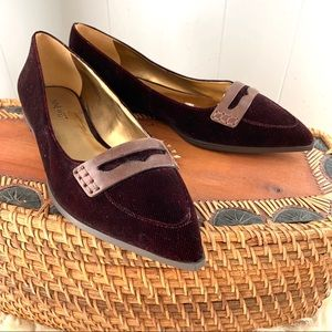 🍁Ready for FALL! NEW Beautiful burgundy flats!
